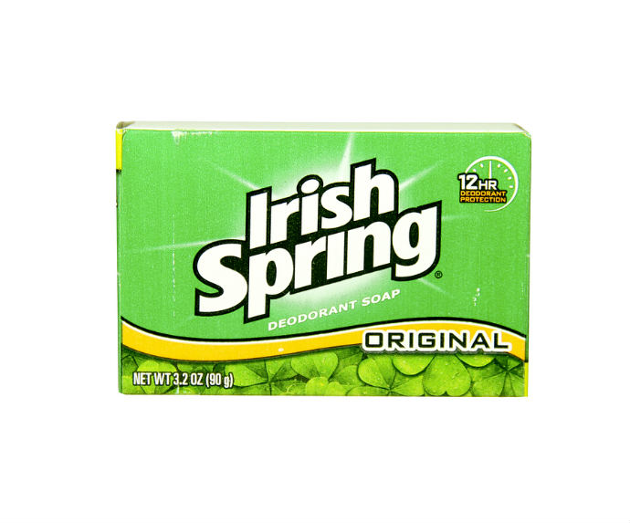 Box Of Irish Spring Soap