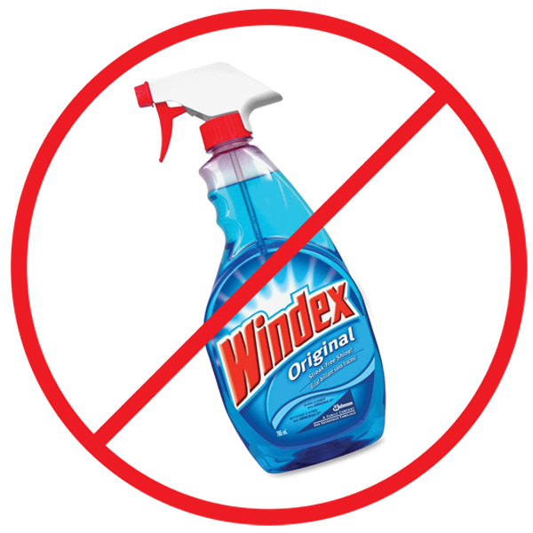 no windex