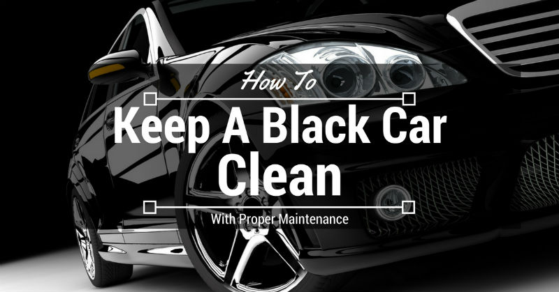 Keep A Black Car Clean