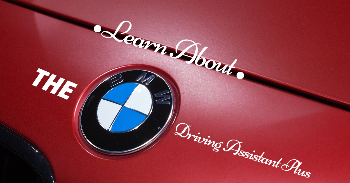 BMW driving assistant plus