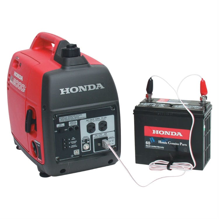 Charge RV Battery with Generator