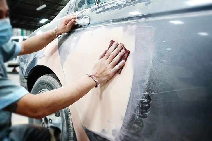 How much paint to paint a car?