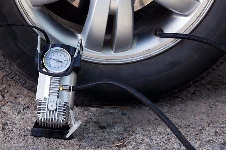 using a tire inflator