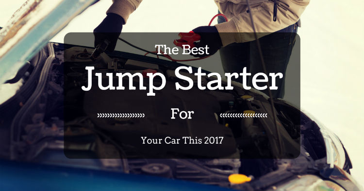The Best Jump Starter For Your Car This 2017