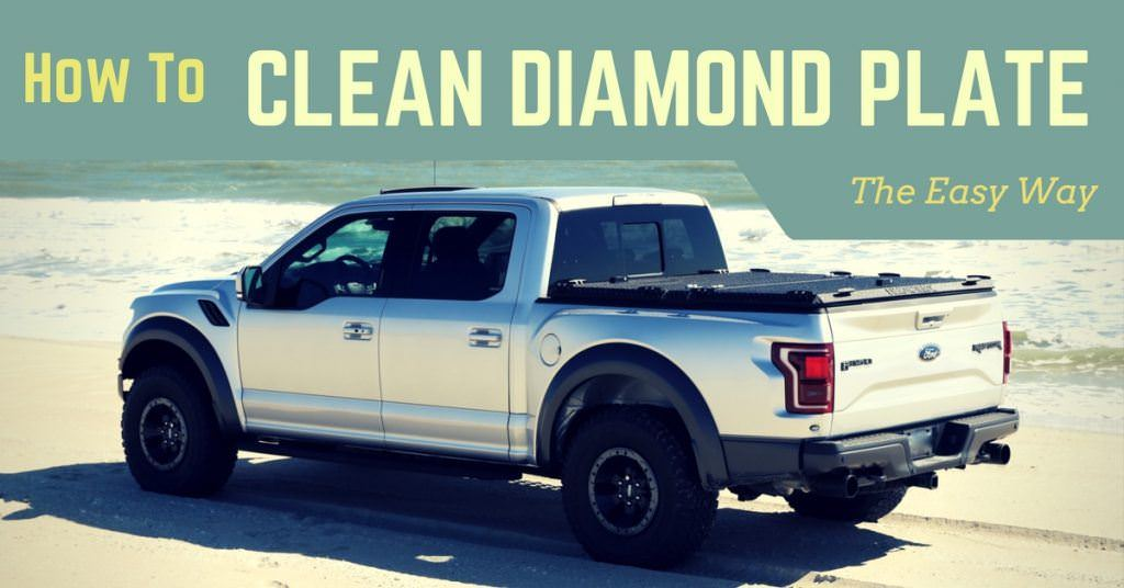 how to clean diamond plate