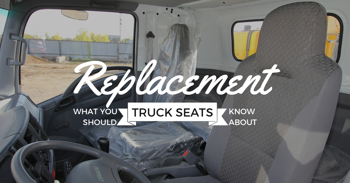 replacement truck seats