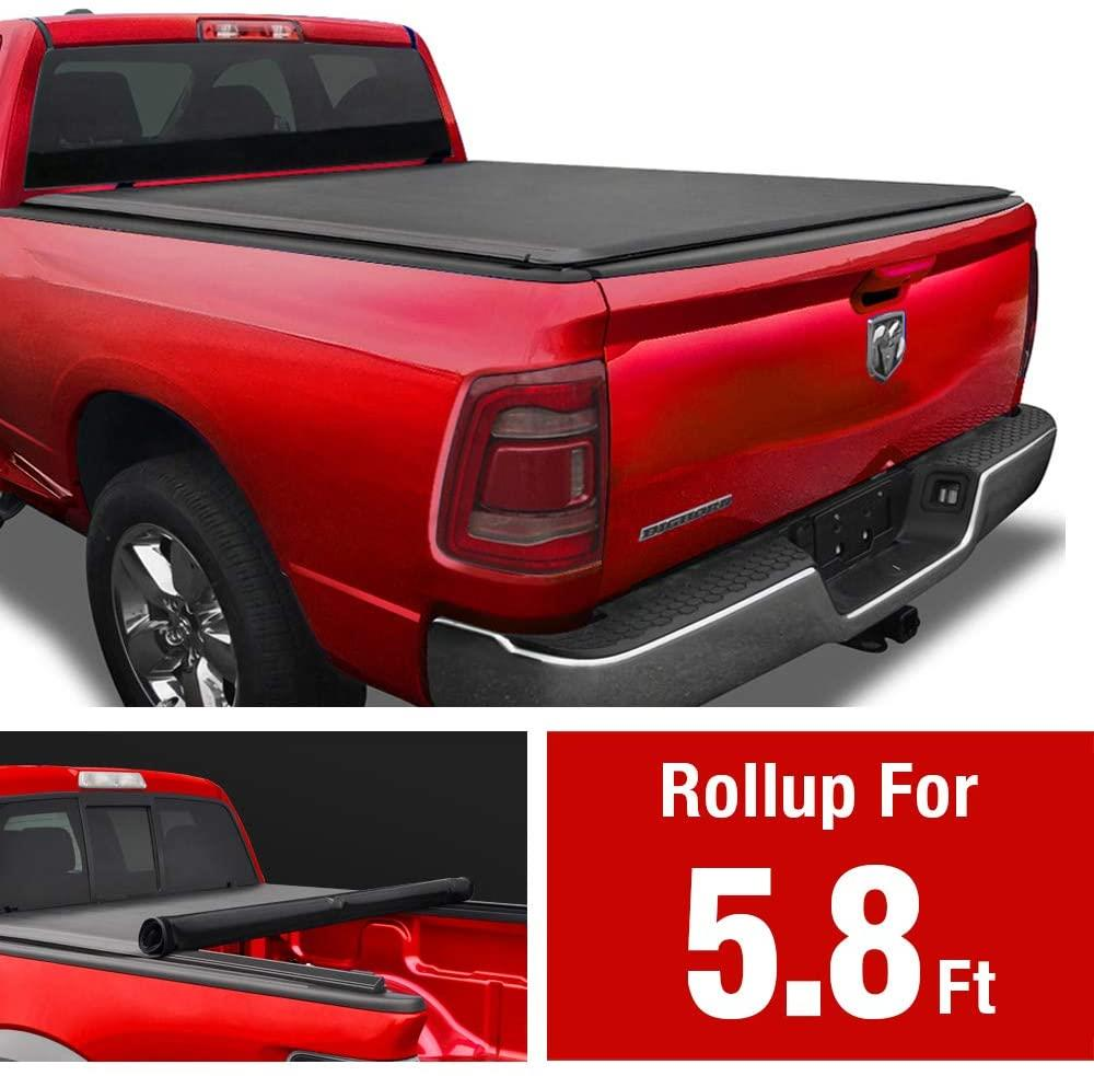 MaxMate Soft Roll Up Truck Bed Tonneau Cover