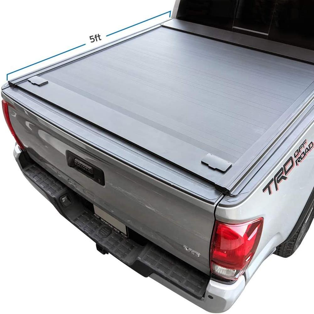 Syneticusa Aluminum Roll-Up Retractable Low Profile Hard Tonneau Cover