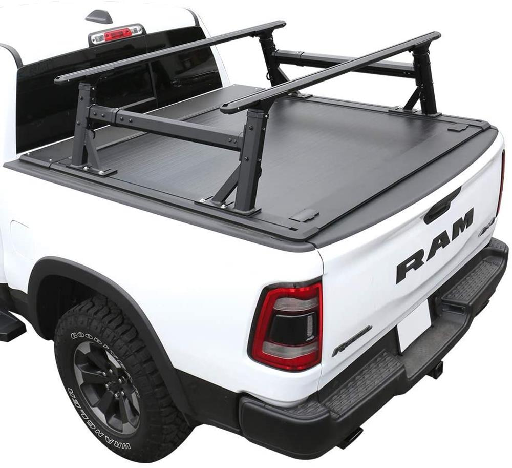 Syneticusa Off Road Rack Ready Aluminum Retractable Tonneau Cover