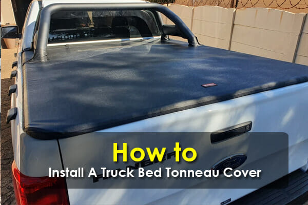 The Tonneau Cover Must Blend In