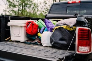 How To Keep Luggage Dry In Truck Bed