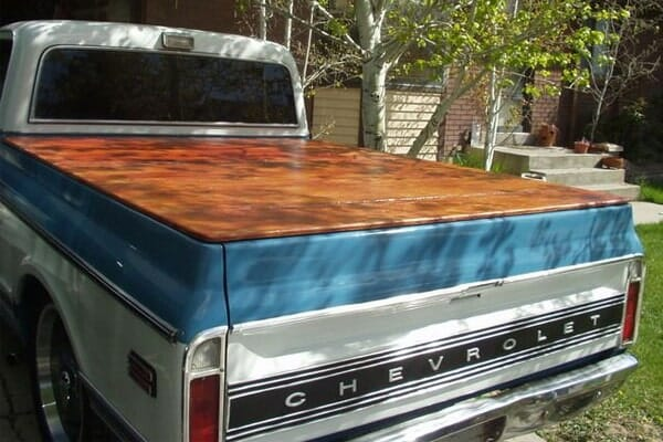 What's A Wood Truck Bed Tonneau Cover?